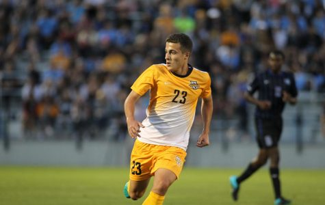 Diego Nunez has come off the bench in four of Marquette's first five matches. (Photo courtesy of Marquette Athletics)