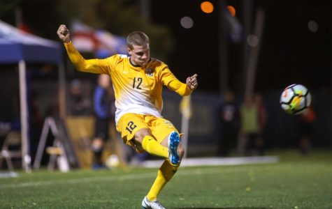 Men's soccer blends international and American players