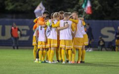 Balanced offense helps men's soccer upset No. 13 Villanova