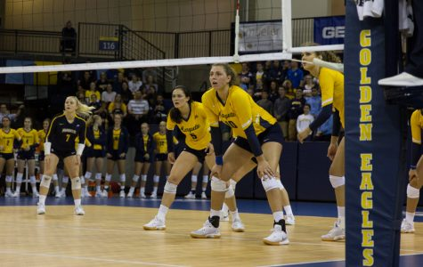 Volleyball upsets No. 10 USC in five grueling sets during home opener