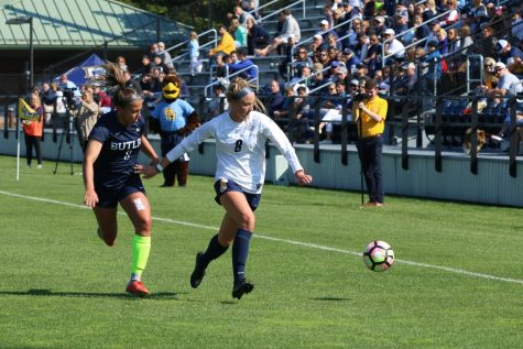 Allison Jacobson shares special bond with sisters over Marquette soccer
