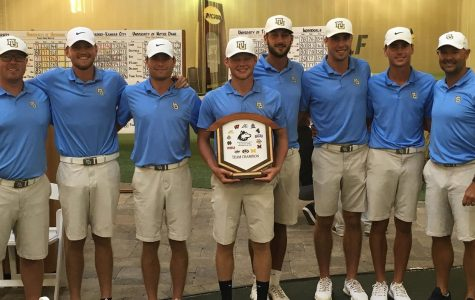 Men's golf wins Northern Intercollegiate for second consecutive year