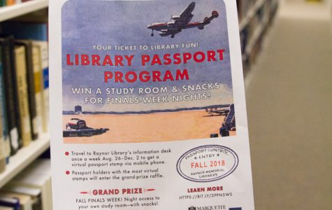 "Raynor Library's starts ""Passport Program"" contest"