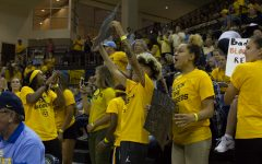 Volleyball sells out Al McGuire Center
