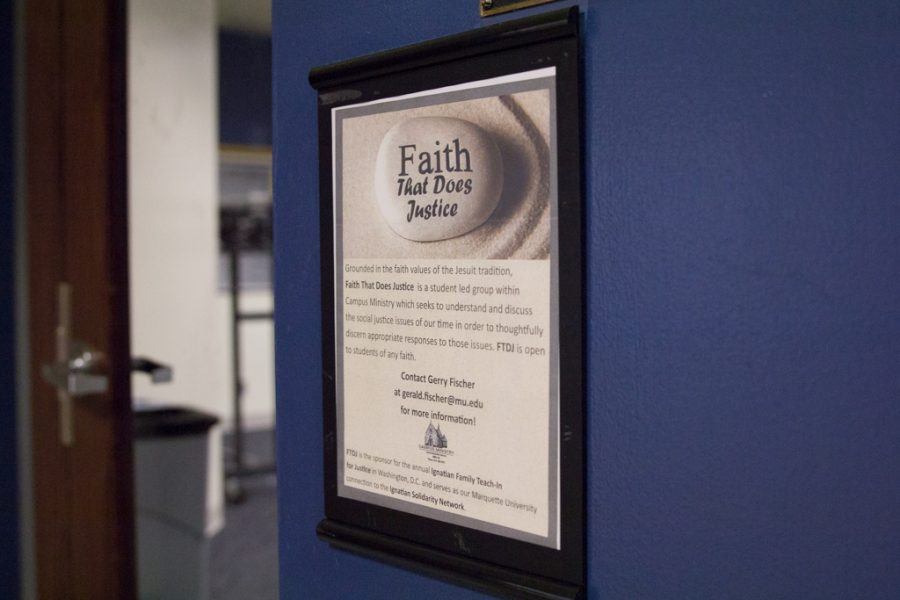 Faith+That+Does+Justice+plans+to+participate+in+issues+involving+justice+in+the+Milwaukee+area+and+on+campus.