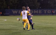Men's soccer fails to score in battle with Georgetown