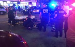 Vehicle hits, injures student on 17th and Wells Street