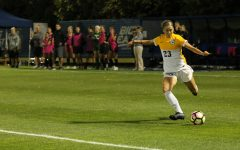 Women's soccer gives up late lead despite Kutey goal, loses to Colorado