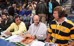 McIlvaine leaves men's basketball broadcasting team with towering presence