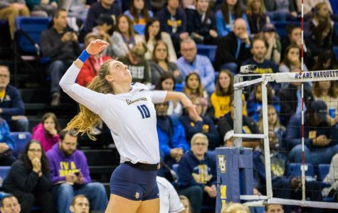 Volleyball defeats Villanova in straight sets