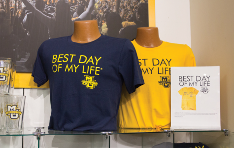 Best Day of My Life T-shirts are intended to spread positivity on campus.