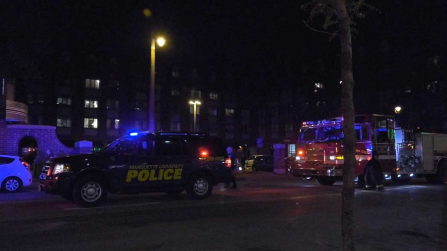 Marquette University Police Department responded to the incident Thursday night.