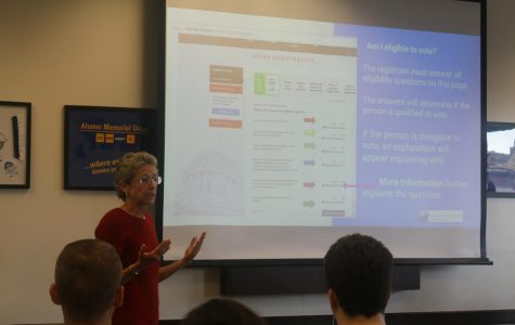 Students learn to register to vote with Milwaukee organizations