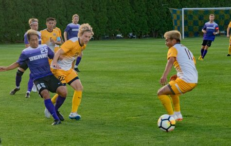 Men's soccer offense shows improvement in 2018