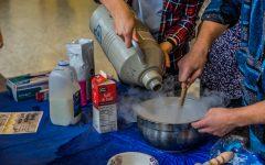 CheMU serves liquid nitrogen ice cream to promote student organization