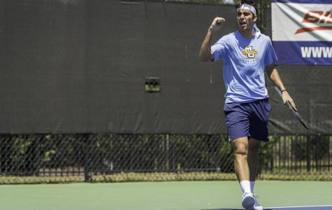 Men's tennis prepares for Redbird, Gopher invitationals