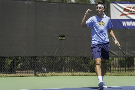 Men's tennis wins first BIG EAST title, heads to first NCAA Championship