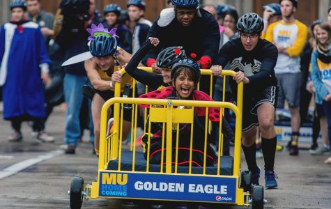 Iconic Bed Races create excitement on campus