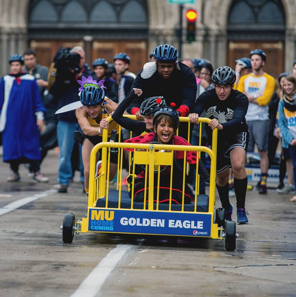 The Bed Races start at 4pm Friday, with live MUTV broadcast coverage beginning at 3:45pm.