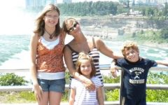 Writer Morgan Hughes poses with her family in 2010. Photo courtesy of Morgan Hughes.