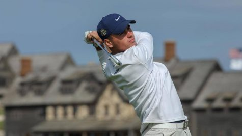 Men's golf ties for 15th place in first Spring tournament