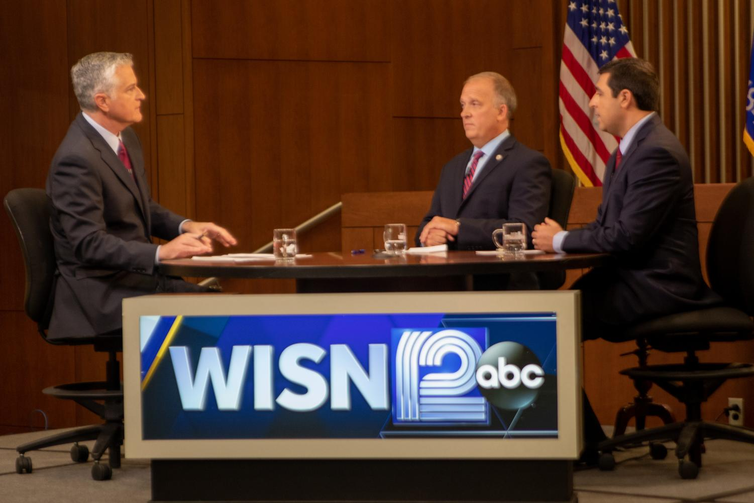 WISN hosts 'On the Issues' at the Marquette University law school.