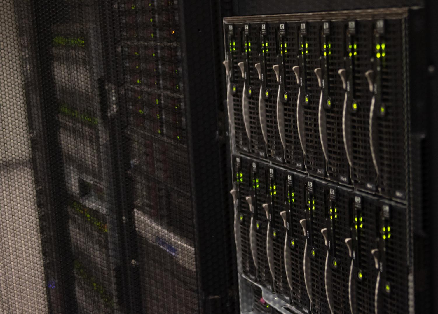 A supercomputing cluster will replace the current one in the chemistry building.