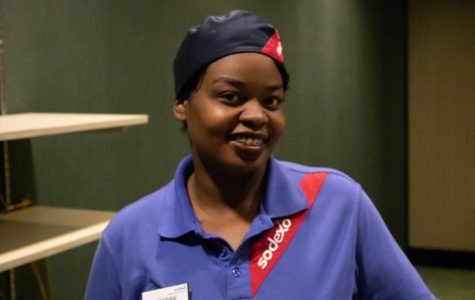 Lakendra Brooks, a Sodexo worker at Straz Tower dining hall, made the final rounds of REV-Up MKE with her barbershop idea.