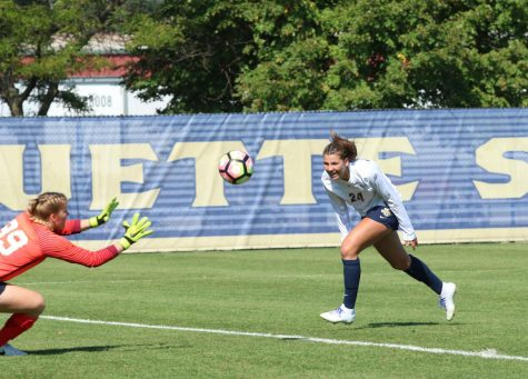 AUDIO: Recap of Marquette Women's Soccer vs. Villanova & Creighton