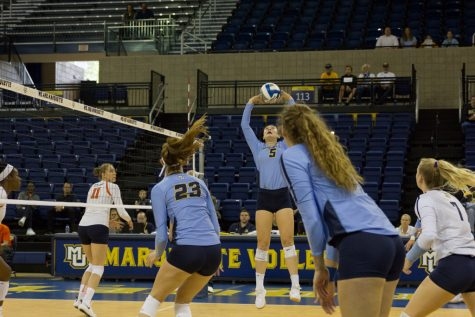Marquette starts BIG EAST strong with sweep of Providence