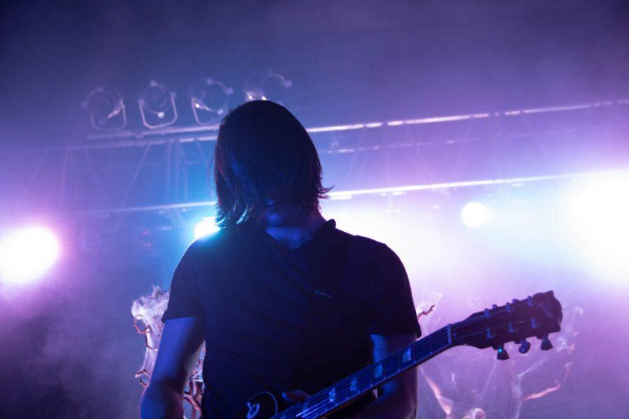 Guitarist Alex Garcia of Mayday Parade