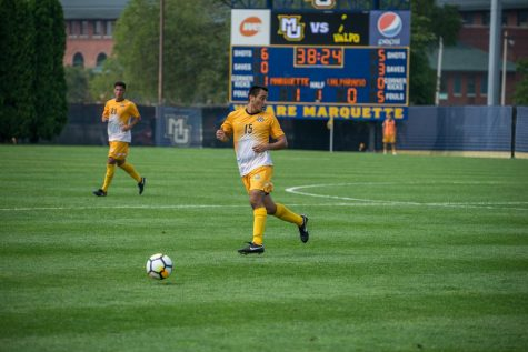 Barraza shutout fuels men's soccer's win over Central Arkansas