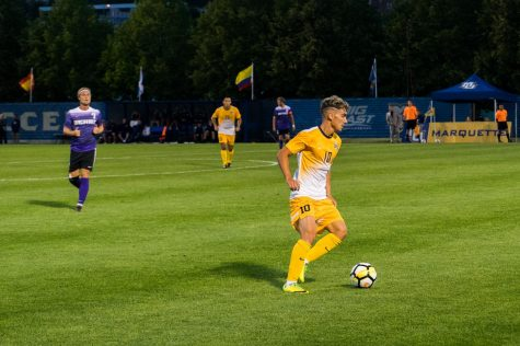 Win over Torrent completes undefeated spring season for men's soccer