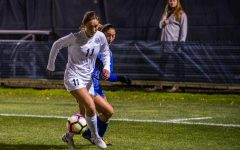 Women's soccer finishes season with 4-0 rout of Seton Hall