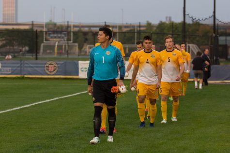 Men's soccer ends regular season with shutout of DePaul