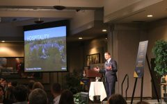 Kohler CEO visits Marquette's Business Leaders Forum