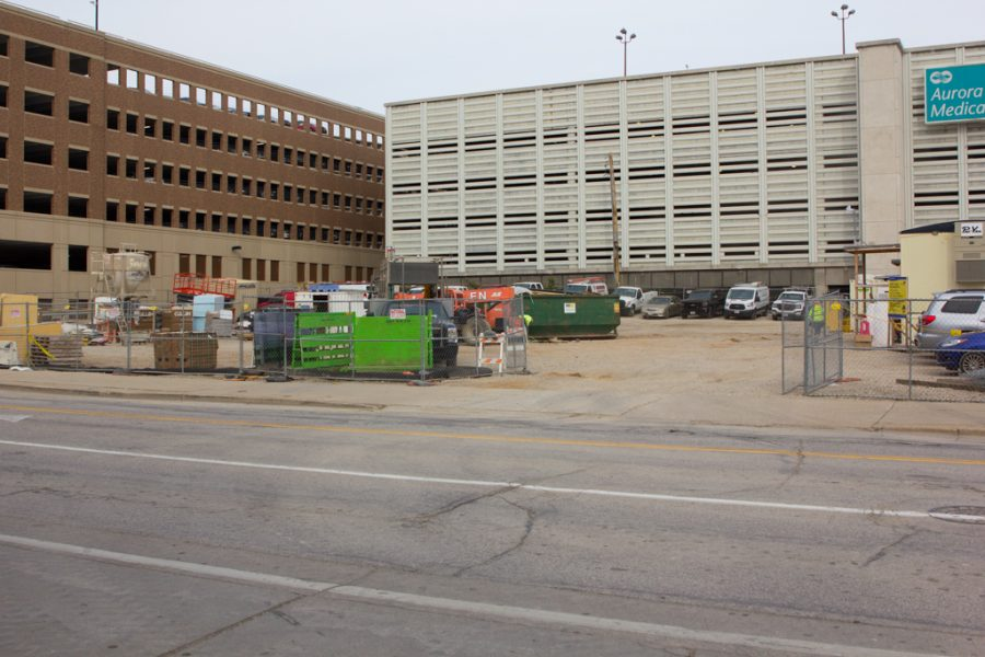 A+new+parking+lot+will+be+across+from+the+Al+McGuire+center.+Parking+permits+will+be+issues+at+the+beginning+of+2019.+