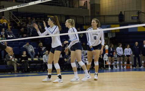Marquette notches third consecutive win in sweep of Georgetown