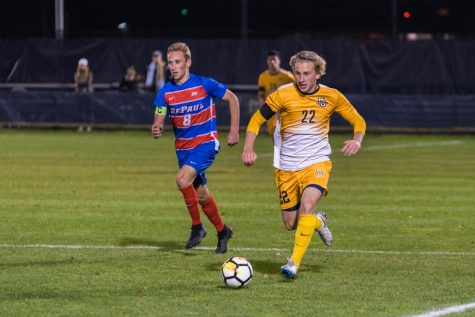 Men's soccer suffers first loss of 2018 to Saint Louis