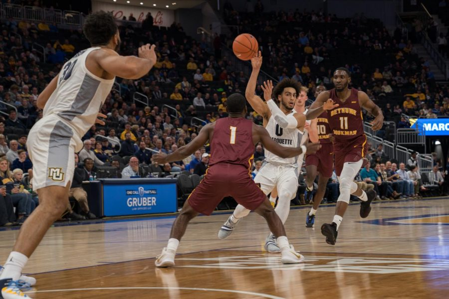 PHOTO GALLERY: Mens basketball wins second game at Fiserv Forum