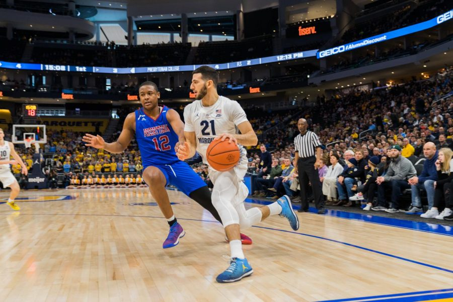 Late scoring run from Chartouny helps No. 24 Marquette avoid upset
