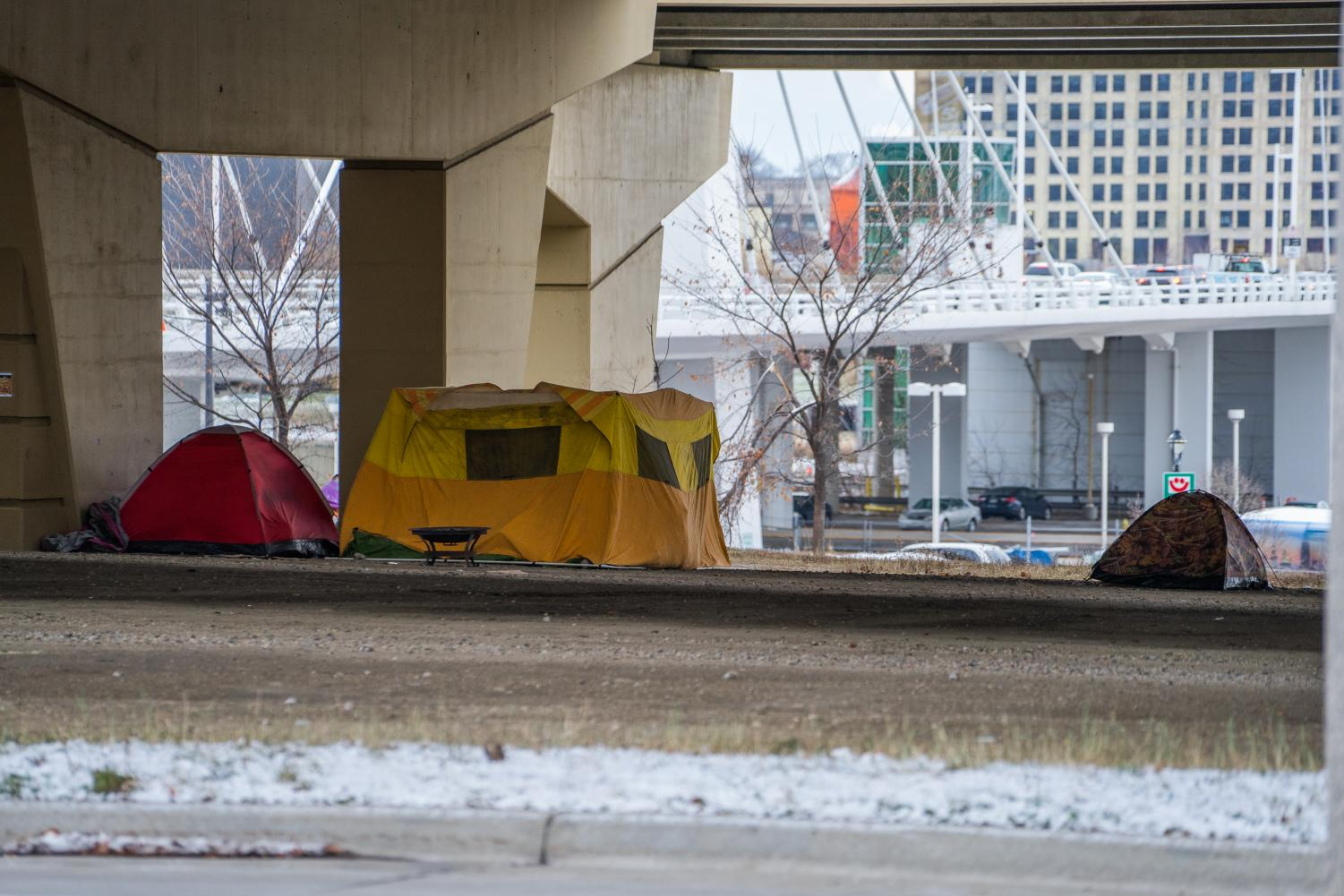 Milwaukee homeless community members face brutal winter conditions.