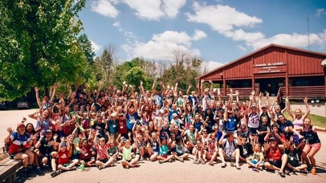 Camp Kesem used Giving Tuesday to raise over $16,000 to support kids at the summer camp for free.  Photo courtesy of Allison O'Malley