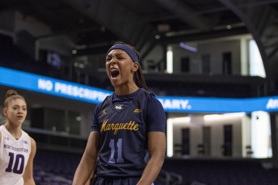 Allazia Blockton becomes Marquette's all-time leading scorer