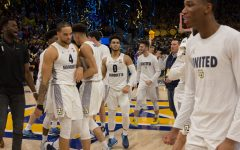 Men's basketball upsets No. 12 Wisconsin, picks up second Top-25 win in eight-day span