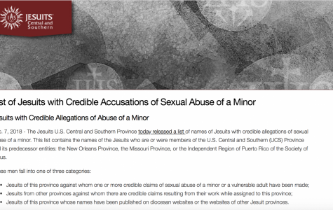 Former MU Jesuits listed as having credible sexual abuse allegations against them