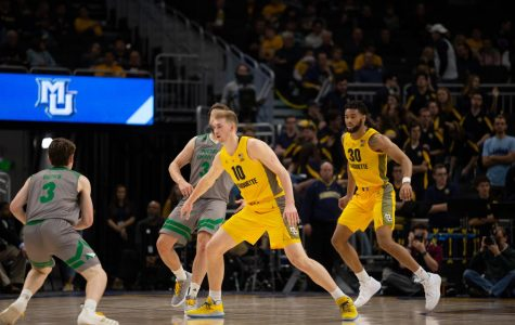 Men's basketball's post defense shows improvement despite challenging schedule
