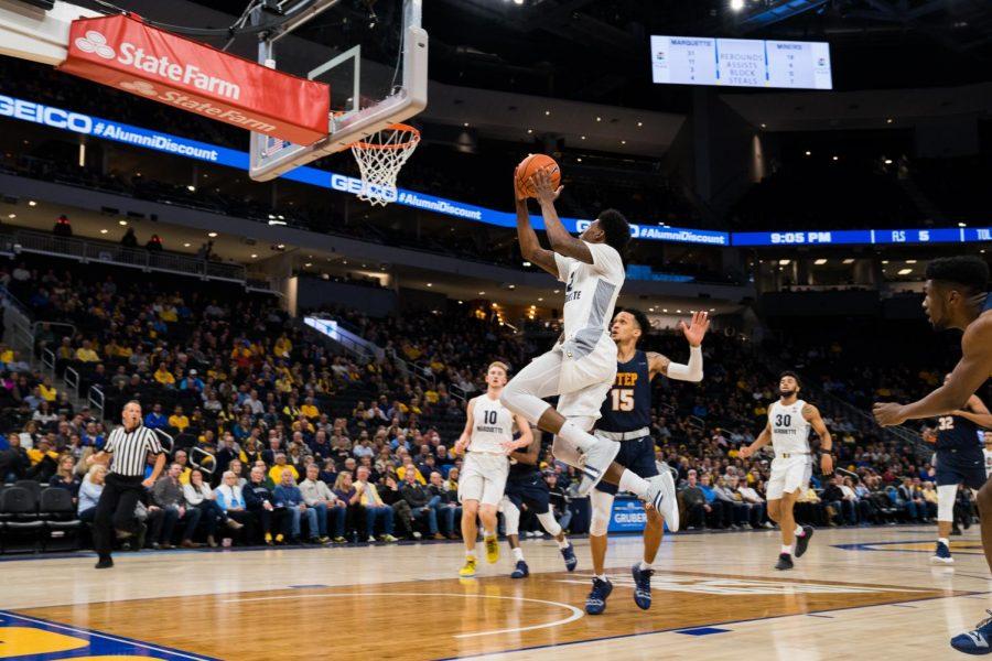 Men's basketball outlasts UTEP despite shooting woes