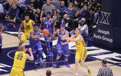 Hauser brothers' positionless basketball catches attention of BIG EAST opponents