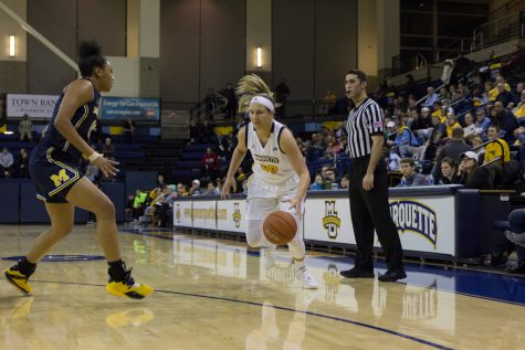 Marquette falls short of season sweep against Creighton, eases past Providence